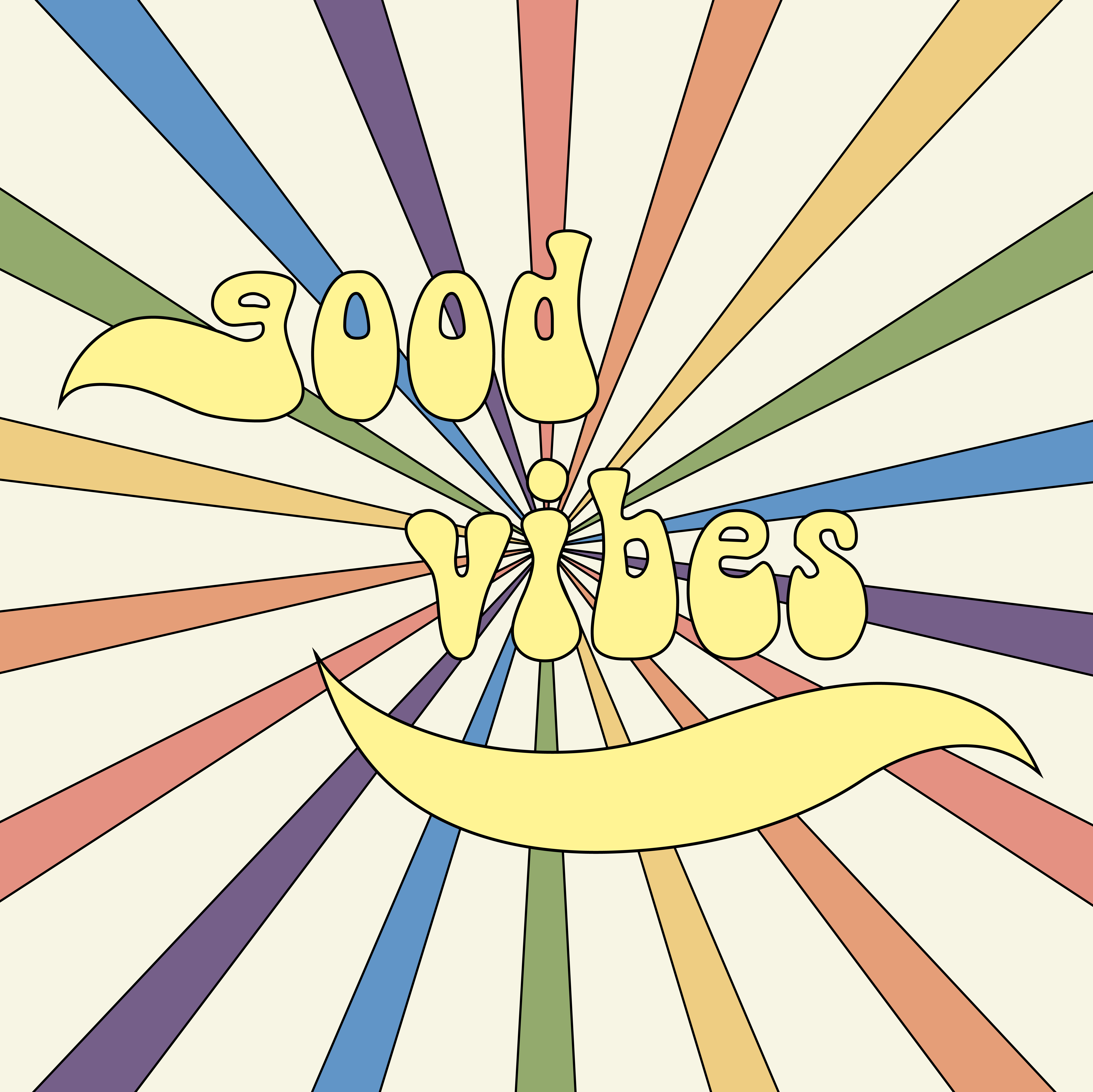 Good vibes playlist cover