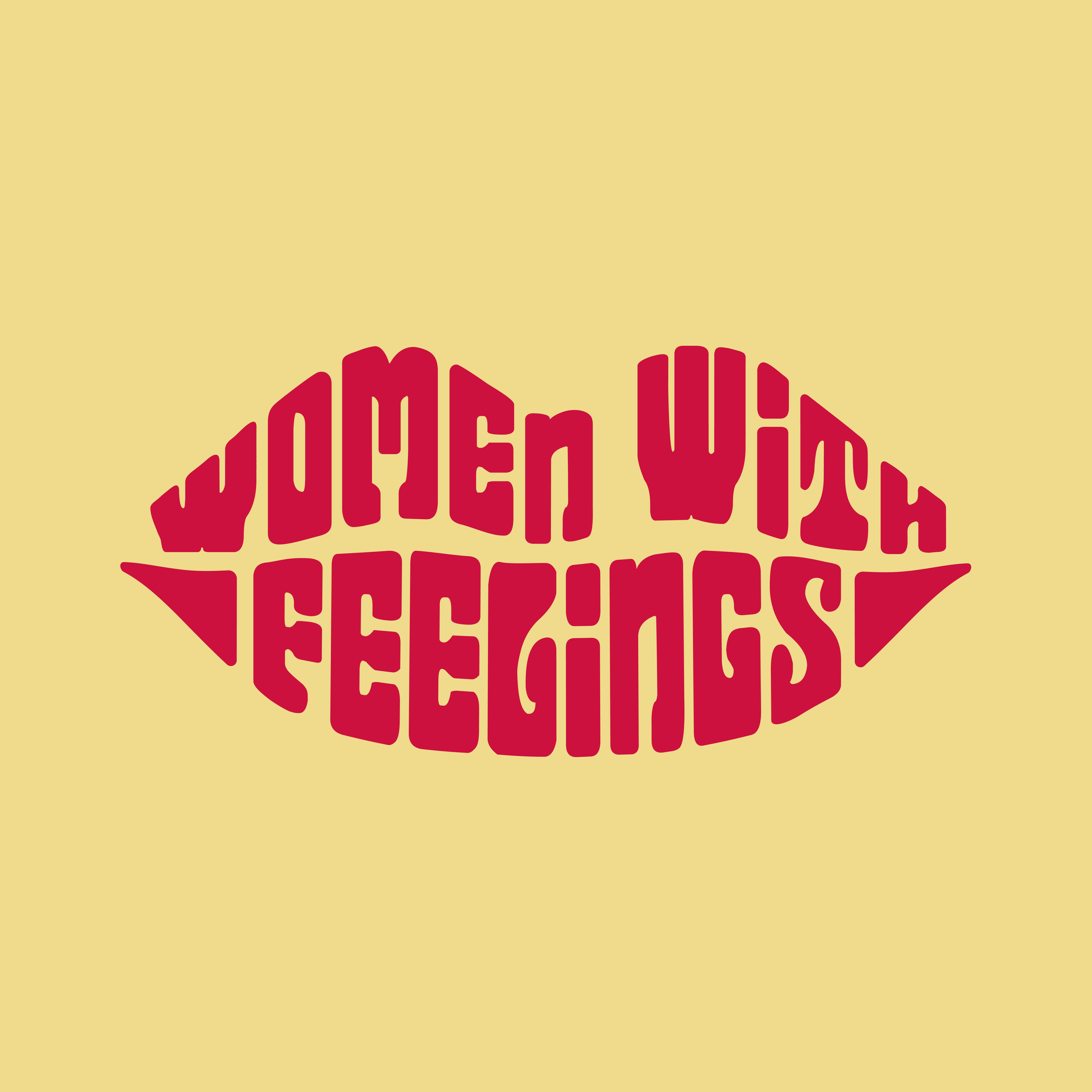 Women with feelings playlist cover