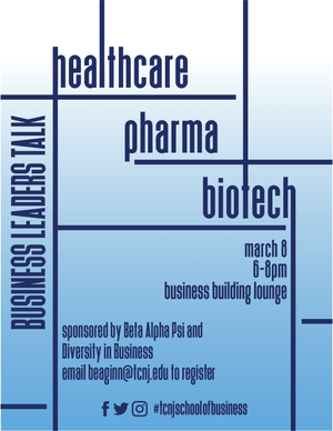Business Leaders Talk Healthcare poster