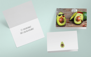 Avocardo greeting card